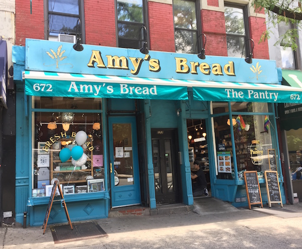 Amy's Bread has seven locations in Manhattan, including this one in Hell's Kitchen (672 Ninth Ave., btw. W. 46th & 47th Sts.). | Photo courtesy of Amy's Bread