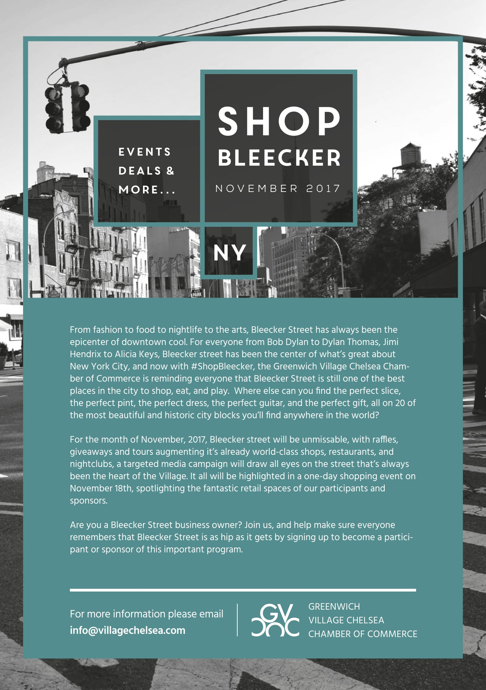 shopbleecker info
